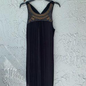 Mossimo beaded maxi dress